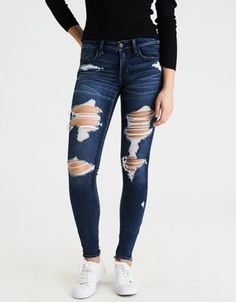 666cb0fb5321 Pantalones American Eagle, American Eagle Jeans, High Jeans, Ae Jeans,  Hollister Jeans
