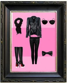 spy outfit for a girl, created by mmthomp on Polyvore