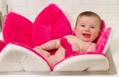 Blooming Bath is the cute, cuddly and convenient way to bathe your baby. Unlike traditional baby bath tubs, Blooming Bath is made from incredibly soft, plush materials. Baby Bath Seat, Baby Tub, Bath Seats, Baby Shower, Little Baby Girl, Little Babies, Baby Girls, Future Mom, Beautiful Baby Girl