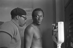 miles davis atgleason's gym, new york city, 1969 • baron wolman