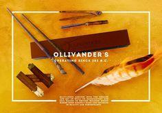 Image via We Heart It #harrypotter #olivander's