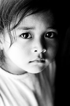 #Abandoned - Two years ago she was abandoned at Angkor Wat #Cambodia - Now she lives with 47 other #orphans at the Sangkheum Center for Children (a privately funded Center). By Azli Jamil