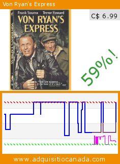 Von Ryan's Express (DVD). Drop 59%! Current price C$ 6.99, the previous price was C$ 16.98. http://www.adquisitiocanada.com/20th-century-fox-home/von-ryans-express