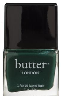 Butter London nail polish, British Racing Green $15.95