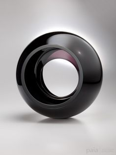 Midnight Eclipse - by John Kiley - Glass - 15 x 14 x 11 inches - year 2012 - at Paia Contemporary Gallery