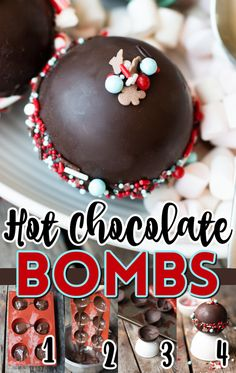 Mint Chocolate Candy, Hot Chocolate Gifts, Chocolate Melting Wafers, Homemade Hot Chocolate, Hot Chocolate Bars, Hot Chocolate Mix, Hot Chocolate Recipes, Chocolate Treats, Chocolate Pinata