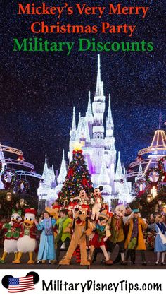 military discount prices on mickeys very merry christmas party 2015 - When Does Disney Decorate For Christmas 2018