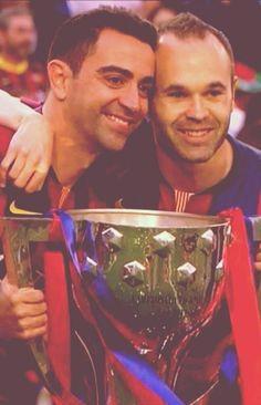 Xavi Iniesta, Pep Guardiola, Criminal Minds, Messi, Champion, Barcelona, Club, Soccer Players, Football Pics