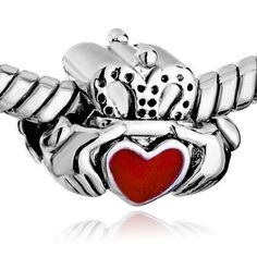 Sterling Silver Number 13 Inside Of Heart Scrolls Birthday Dangle Charm Bead For Bead Charm Bracelet