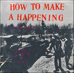 Simple in construction, yet profound in context, How to Make a Happening is Allan Kaprow delivering 11 rules on how, and how not, to make a Happening, an movement begun by Kaprow in the late fifties that is known for its unpredictability, open scores, and constantly-evolving form. Perhaps, one of the more astonishing values to this recording is that it reflects and informs on a movement that fifty years on has come be seen as a seminal shift in postwar contemporary art and performance.