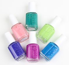 USA's nail salon expert since 1981, essie cosmetics was founded in New York City by Essie Weingarten, the color authority. essie is beloved for a visionary approach to nail lacquer featuring catchy, clever names that created a new standard for the category.  ESSIE NEON 2015
