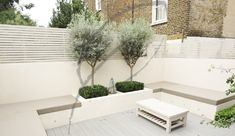 The request for this garden was for a stylish entertaining space low maintenance and minimal. A magazine cutting bought in by Back Garden Design, Modern Garden Design, Backyard Garden Design, Backyard Patio, Backyard Landscaping, Rooftop Garden, Landscaping Ideas, Back Gardens, Outdoor Gardens