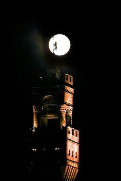Un sogno ......Firenze con la superluna