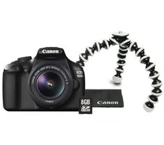 Canon Eos 1100d Ef S 18 55 Mm Is Ii Lens Accessory Pack Sd Memory Card 8gb Tripod Cleaning Wipes £ 335