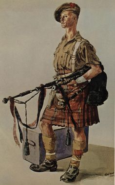 "James Dawson a regular soldier who enlisted into The Black Watch before the outbreak of the First World War.  He held the appointment of ""Piper."" He earned his entitlement to the clasp for 1914 Star. On 11 December 1918, he was awarded the Military Medal ""for Bravery in the Field."""