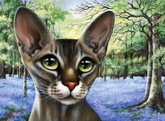 Ах, кошки-кошки... Художница Irina Garmashova-Cawton.. Обсуждение на LiveInternet - Российский Сервис Онлайн-Дневников