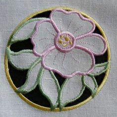 motif gratuit + tutoriel - fleur richelieu