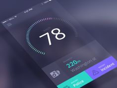 Dribbble - Speedcam app animation by Jakub Antalík