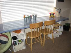 D.I.Y.- Kids Craft Table   The Style Sisters