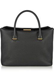 The RowTextured-leather tote