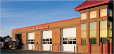 Thermacore Doors  A solid garage door for commercial or industrial applications that demands the highest levels of thermal efficiency, air infiltration and wind load resistance.