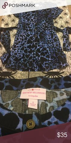 NWOT Matthew Williamson Romper Brand new never worn romper. Offers welcome! I do bundle discounts too! Macy's Shorts