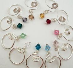 Toe rings - love this idea, gonna have to see if I can make one...or two lol