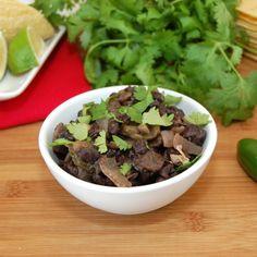... Food on Pinterest | Cuban black beans, Fried plantain and Cuban pork