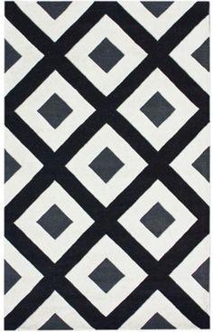 Diamonds — I'm kinda into this rug.... with bright colors around it... ; )