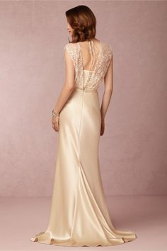 Zaden Gown from BHLDN---Reminds me of my Grandmother's gown in 1935.
