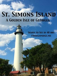 St. Simons Island - A Golden Isle of Georgia (in 48 hrs)