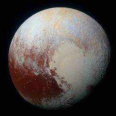 Reprodução Plutão tem água.
