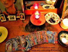 Tarot Spread by R. Minerva, via Flickr