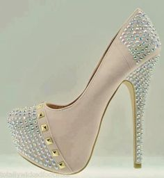 See more High Heel Shinning Crystal Shoes