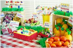 Adorable Fruit Stand Party!