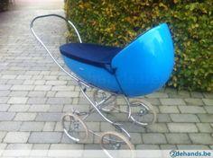 Retro vintage original design pram 60 - For Sale   2dehands.be