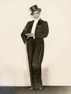 Josephine Baker, 1933, a personal favorite of the star in men's wear.