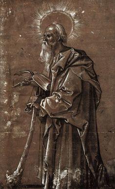 Baldung Grien, Hans: Hl. Judas Thaddäus c.1510 Hans Baldung Grien, Kunst Poster, Student Gifts, Printmaking, Mythology, Renaissance, Poster Prints, Tapestry, Statue
