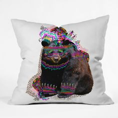 Kris Tate Ohkwari Throw Pillow | DENY Designs Home Accessories