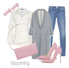 Pastel by agency-blooming on Polyvore featuring polyvore, fashion, style, Donna Karan, Zara, Mother, Christian Louboutin, DKNY, Marc by Marc Jacobs and clothing