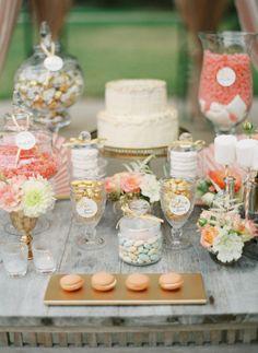 Peach and Cream Wedding inspiration