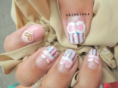Cotton Candy Nails | chichicho~ nail art addicts