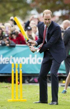 Prince William in Christchurch 14 Apr 2014