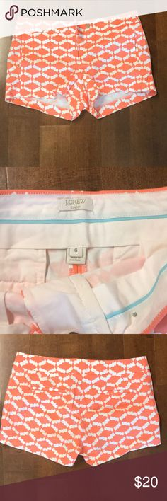 Jcrew Summer Shorts Bright and color shorts. Perfect for summer. They are barely used. J. Crew Shorts