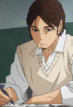 The Ace   Asahi   Haikyuu!!   Anime   (gif)
