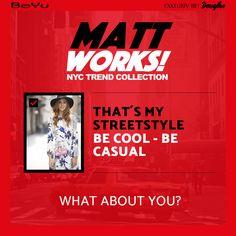 Das ist mein MATT-Look! Du willst auch wissen, welche Produkte aus der BeYu MATT WORKS! Kollektion zu deinem Typ passen