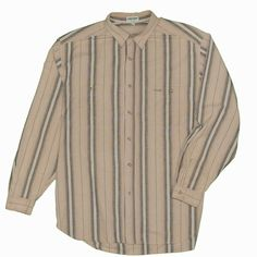 723430c4a5 Guess Men's Shirt XL Vintage Made USA Striped Button Down Long Sleeve –  itisvintage #guess
