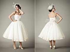 I love the whimsy and detail of this dress, plus the playfulness of it.  Matthew Christopher | Collections