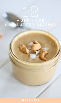 Make a variety of homemade nut butters with these eat recipes.