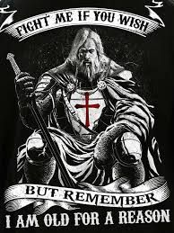 Discover Knight Templar Warrior T-Shirt, a custom product made just for you by Teespring. - Beautiful and quality Knight Templar. Military Quotes, Military Humor, Dad Quotes, Life Quotes, Templar Knight Tattoo, Viking Quotes, Crusader Knight, Christian Warrior, Spiritual Warrior